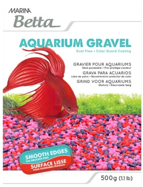 Marina Betta Gravel - Jelly Bean - 500 g (1.1 lb)